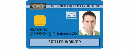 nvq qualification card