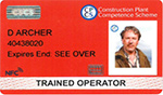 CPCS Construction Training Card
