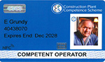 Competent Operator CPCS Card